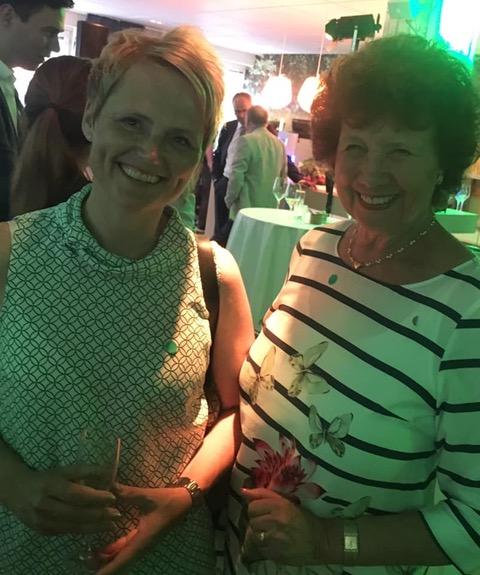 LRF:s nya koncernchef Anna-Karin Hatt och Christina Möller