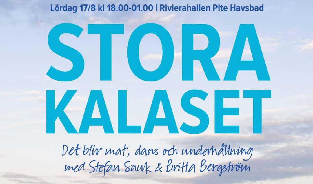 Surströmming och Palt, på Stora kalaset i Piteå.