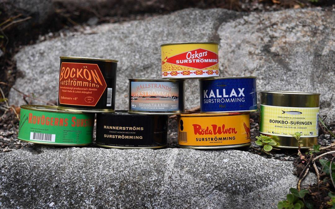 Lite bilder från Aftonbladets surströmmingstest 2019