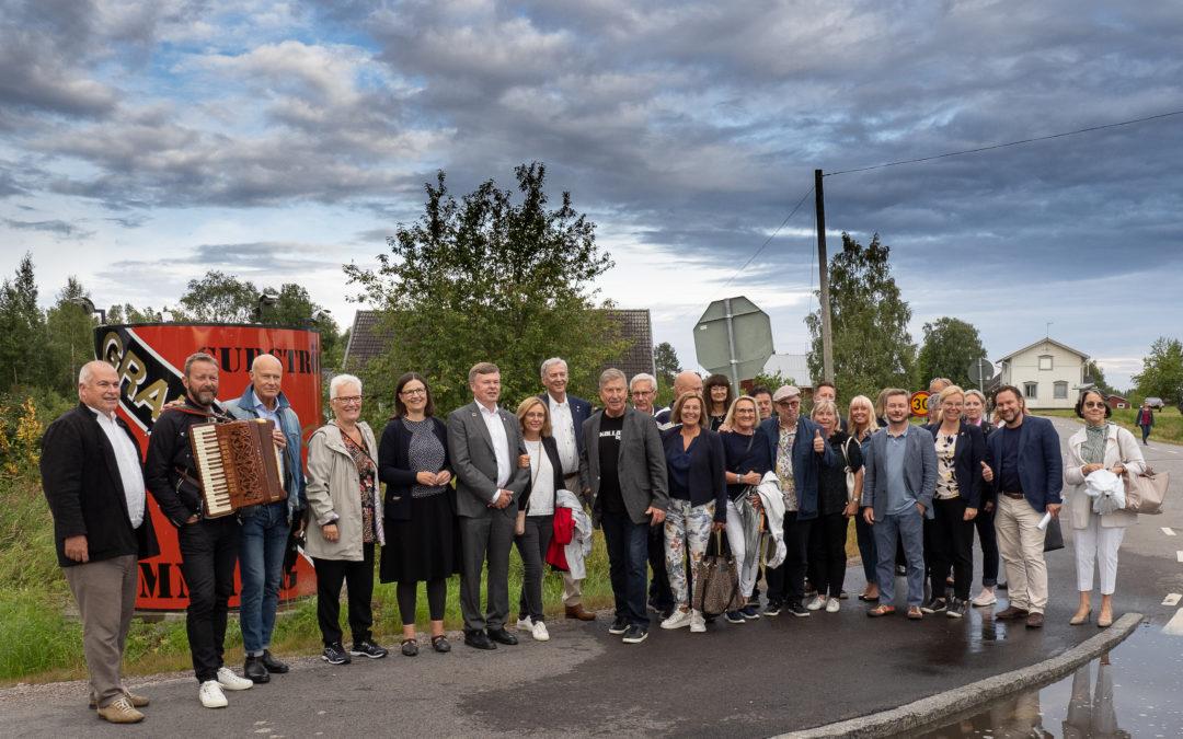 Surströmmingspremiär i Kallax by 15 augusti 2019