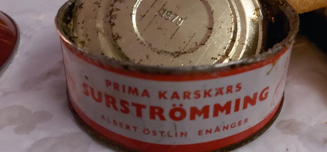 Surströmmingsfest i Borkbo