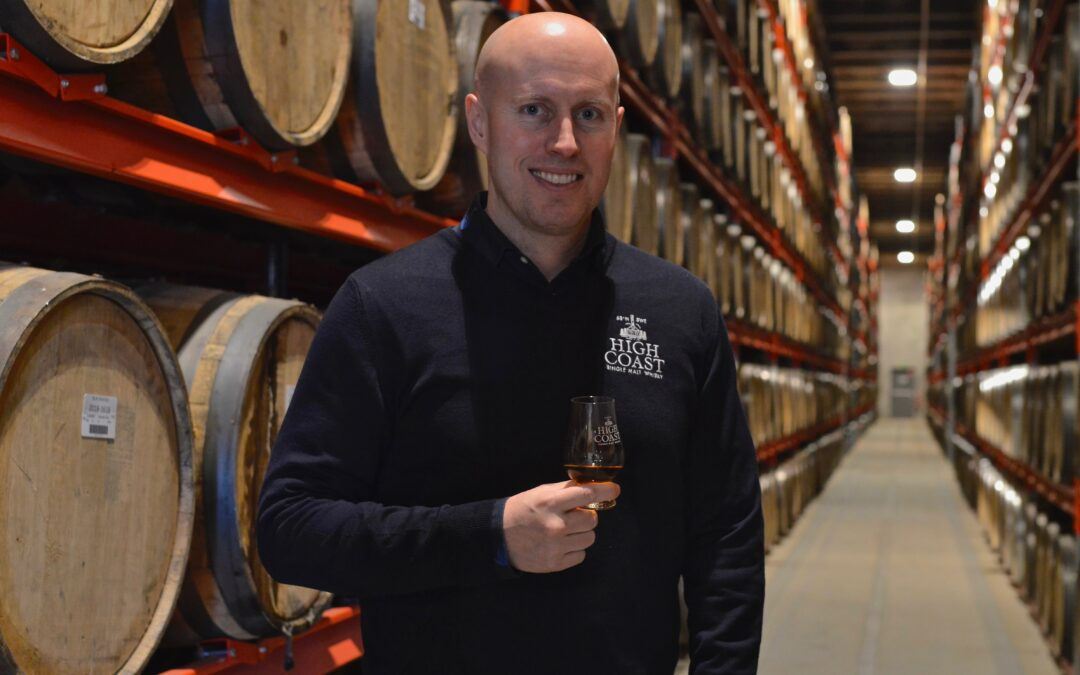 High Coast Whisky sponsrar Surströmmingsakademien