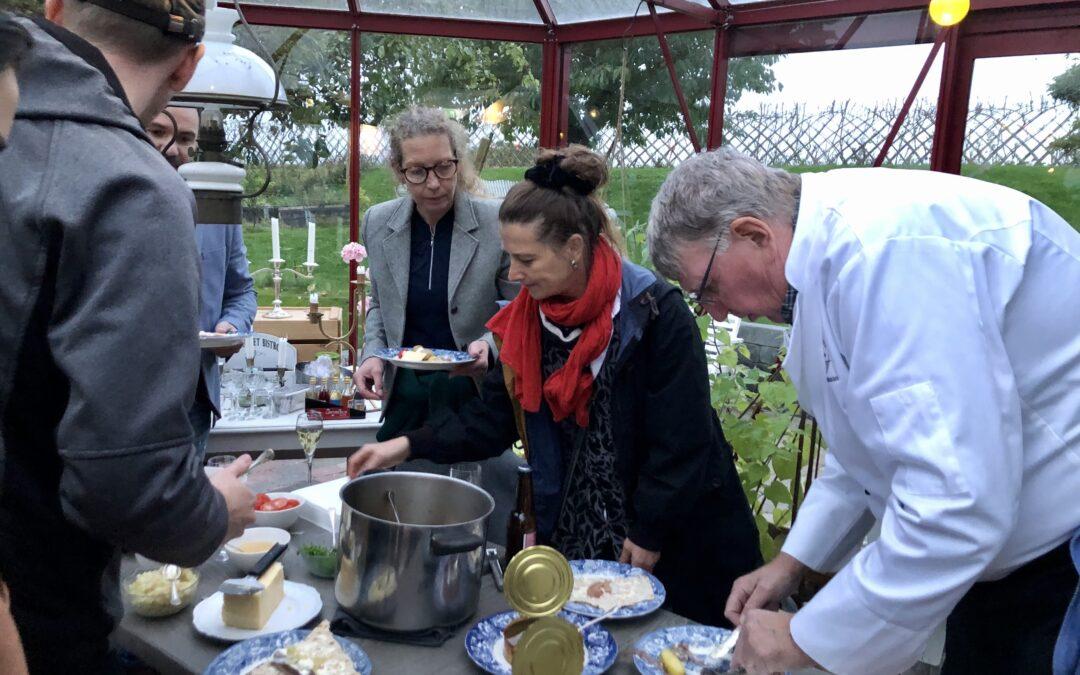 Lars G. Ohlsson sprider surströmmingskulturen i Skåne